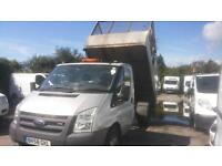Ford Transit 2.4TDCi 115PS 350 MWB CAGED TIPPER EX COUNCIL WITH TAIL LIFT
