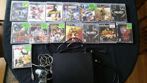 ps3 and games bundle!!