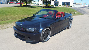 2002 BMW M3 CONVERTIBLE - 6SPD - $14995 CERT/ETEST