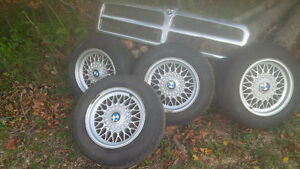 Reduced for quick sale $100  Series 3 BMW rims (5 bolt)