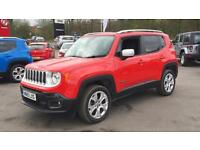 2015 Jeep Renegade 2.0 Multijet Limited 5dr 4WD Manual Diesel Hatchback