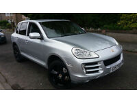 2007 57 PORSCHE CAYENNE 4.8 S TIPTRONIC S.GREAT LOOKING CAR.FULL S/H.NEW BRAKES.