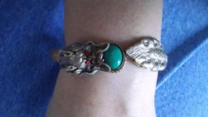 Bracelet en ARGENT DU MEXIQUE