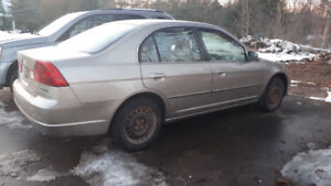 Acura EL, 2003, Manual, good condition, drives well.