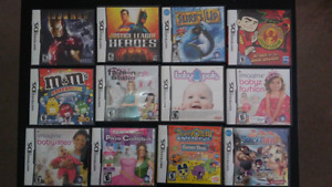 Nintendo DS games Starting at $10
