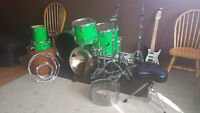 Wesbury drum kit plus hardware and throne MUST GO!!