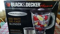 Black and Decker 550w Blender with Spares