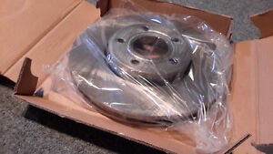 Volkswagen new set of brake pads and rotors, front and rear Kitchener / Waterloo Kitchener Area image 3