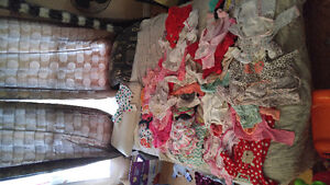 Huge lot of baby girl clothing Newborn to 3 months old