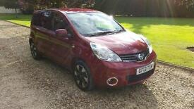 2013 Nissan Note 1.4 16v N-TEC + ONLY 13,000 MILES IMMACULATE CONDITION