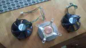 CPU Fan and Heatsink