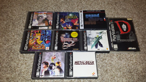 Selling some Rare Playstation 1 Games!