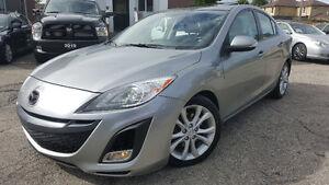 2010 Mazda Mazda3 GT Sedan - SUNROOF! HTD SEATS! BLUETOOTH!