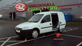 2011 VAUXHALL COMBO 1.7 CDTi WHITE DIESEL VAN NO VAT