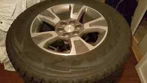 Mounted and balanced tires and rims. 255/65R17