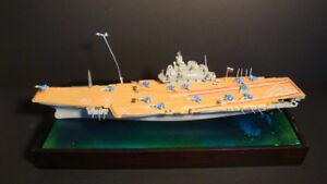 Russian Admiral Kuznetsov Aircraft Carrier Built Model Diorama