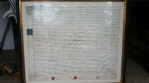 Early 18th Century Documents from King Henry the 5th era