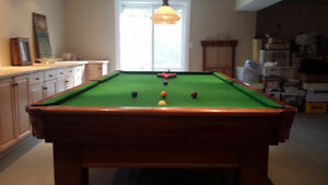 Pool Table...moving...must go!