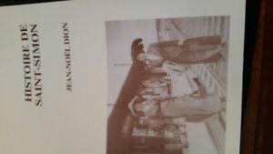 livre sur l'histoire de Saint-Simon