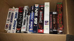 Box of PC games  **updated**