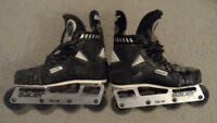 Bauer competition H7 hockey roller blades