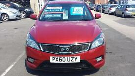 2010 KIA CEED 3 1.6 CRDi Diesel Automatic 5 Door From GBP5,195 + Retail Package