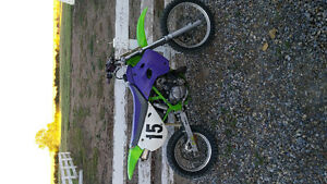 almost new '95 kx 85 awesome shape $1200 obo