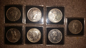 6 very rare silver dollars all in protective cases only 25$ each London Ontario image 3