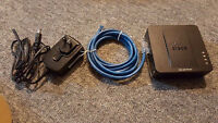 Primus New Cisco SPA122 VoIP SIP Phone Adapter Router ATA