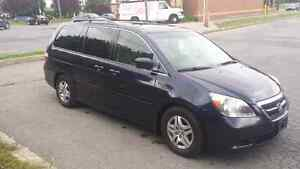 Honda odyssey 2006 exl leather dvd