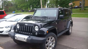 2014 Jeep Sahara Wrangler Black Convertible