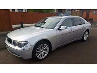 BMW 745 Li e66 for Sale, low miles, good condition, 12 months MOT, SWAP for Mondeo or big MPV/ESTATE