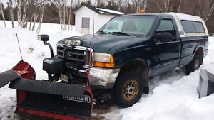 1999 F250 Plow Truck