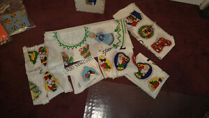 Patterns/Material – Christmas Tree Skirt and Disney Decorations