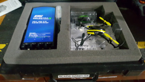 E flight Nano quad copter. Inc, charger and case.