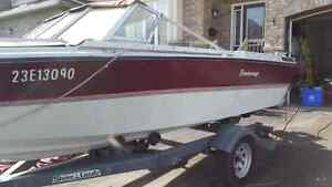 1985 - 19 feet Bowrider,  Peterborough boat with trailer