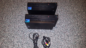 Two sony Ps2 consoles, no remotes or games.