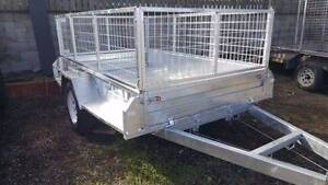 7 x 5 HEAVY DUTY BOX TRAILER 1.4t ATM 300MM SIDES BRAKED Coopers Plains Brisbane South West Preview