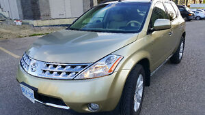 2006 Nissan Murano law134000km safety emission done!