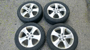 205/55 R16 Wanli Winter tires with Hyundai alloy rims for sale
