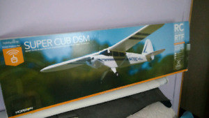 Brand New Rtf piper cub remotr airplane