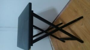 Folding coffee or night table or for TV dinner