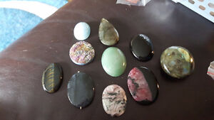 Stones for wire wrapping, jewelry making