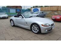 2003 (53) BMW Z4 3.0 AUTOMATIC,HEATED LEATHER, FSH,12 MONTHS MOT