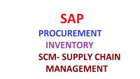 Materials Management, Purchasing, Inventory & Supply Chain manag