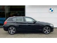 2018 BMW 1 Series 116d Sport 5dr [Nav/Servotronic] Step Auto Diesel Hatchback Ha