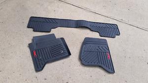 Gmc floor mats