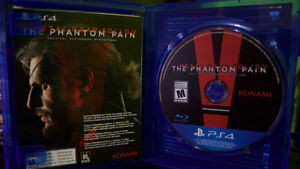 Metal Gear Solid V The Phantom Pain - PS4 - Excellent Condition Cambridge Kitchener Area image 1