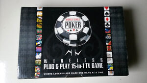 TV/COMPUTER 15 IN 1 POKER GAME LIKE NEW. ASK $12.00