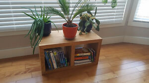Solid Teak Book Shelf / Plant Stand